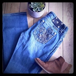 Miss Me Filigree Denim
